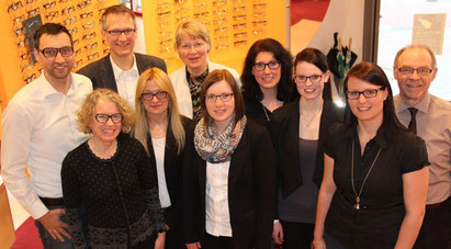 Team von Sehzentrum Optik Motzek Hörakustik