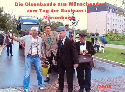 Bild: Olsenbande WCV Wünschendorf