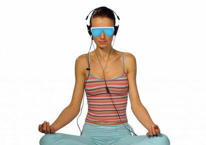dame avec lunettes Psio méditation