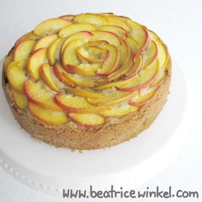 Beatrice Winkel - Nektarinen-Stachelbeer-Kuchen