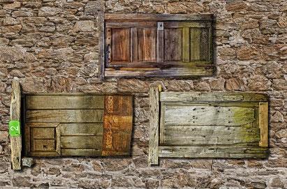 Ungewohntes und damit äußerst irritierendes Türenkonzept