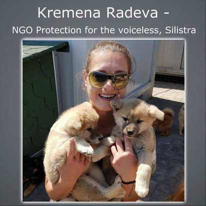 NGO Protection for the Voiceless; Kremena Radeva
