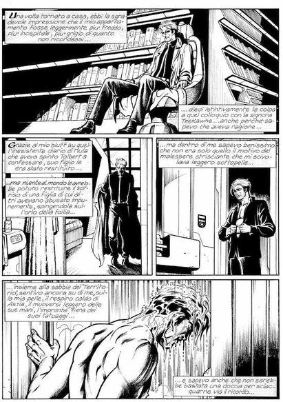 "Tavola da ""Nathan Never"" n. 153 - 2004"