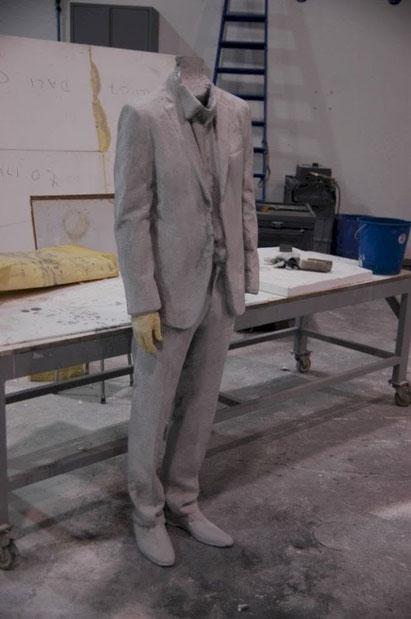 Modelo Dummy de Hombre, para efectos especiales explosion. Spot.