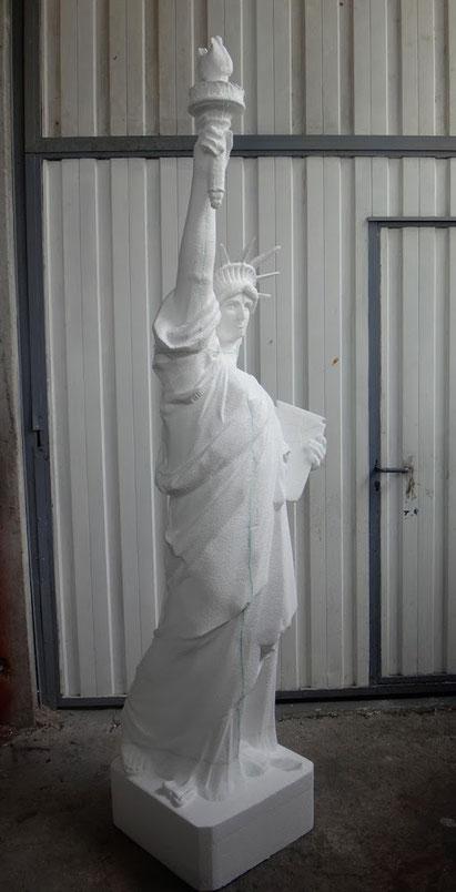 Estatua de la Libertad, talla en poliespan