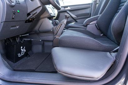 VW Caddy Rutschbrett