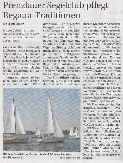 Prenzlauer Zeitung vom 08.09.2016