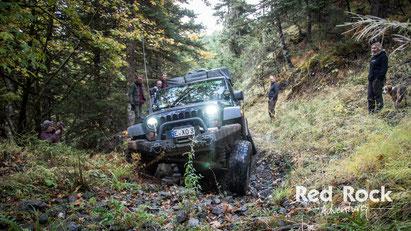 Carsten's Jeep Wrangler JKU in Griechenland