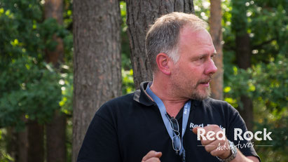 Andreas Bieker, Scout bei Red Rock Adventures
