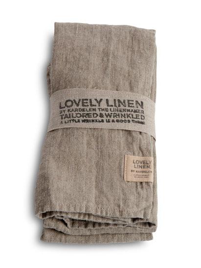 Lovely Linen, Natural Beige, Stoffservierten, Hochwertig