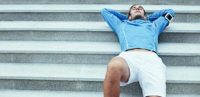 Regeneration nach dem Sport
