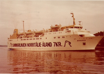Bonanza as operated by Silja Lines.
