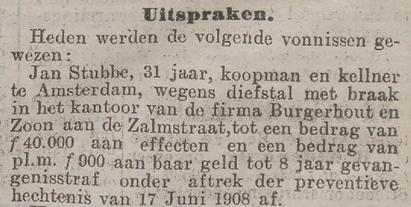 Rotterdamsch nieuwsblad 15-01-1909