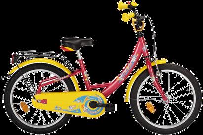 """Bild: Delphin 16"""" oder 18"""" Kinderrad ohne Gangschaltung"""