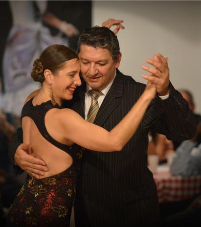 Stage de Tango avec les Maestros Sandra Messina y Ricardo Calvo