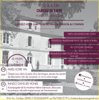 Château du Payre - Portes ouvertes 2017