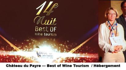 14e nuit best of wine, Château du Payre