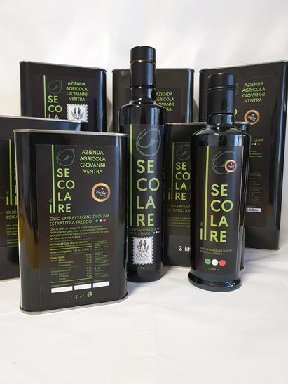 Confezioni Olio extravergine  di oliva il secolare