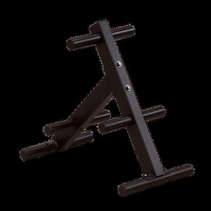 Body Solid Hantelscheibenständer Deluxe 50 mm - OWT-24-BS