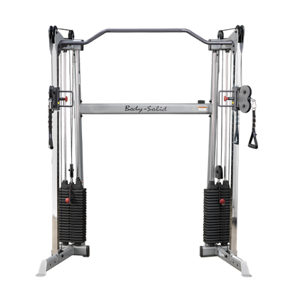 Body Solid Cable Crossover Studio eng mit 72,5 Kg Gewichtsturm - GDCC-200