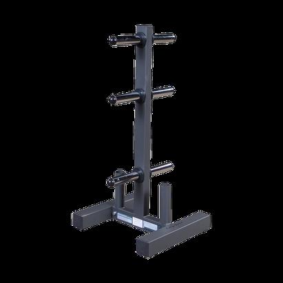 Body Solid Hantelscheibenständer und Stangenhalter Deluxe 50 mm - WT-46-BS