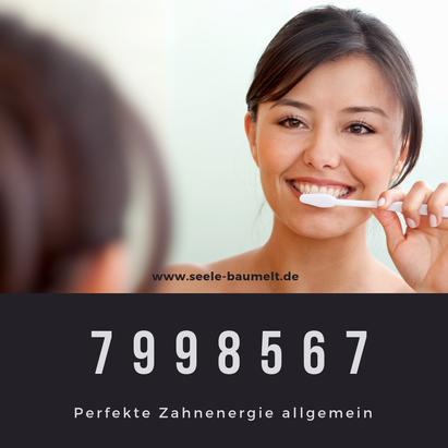 Perfekte Zahnenergie, Zähne heilen mit Heilzahlen Zahlencode Zahlenreihe nach Grigori Grabovoi, Selbstheilung Seele baumelt