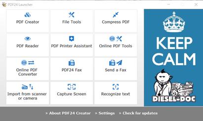 PDF24 Launcher
