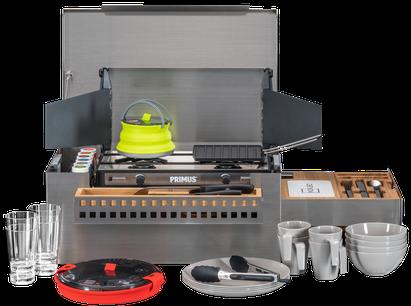 Die MOKUBO ist die mobile Küchenbox für alle Fahrzeuge.