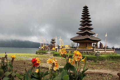 le temple Pura Ulun Danu Bratan