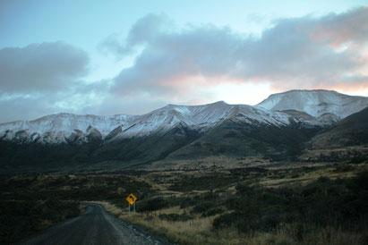 Lever de soleil sur Torres del Paine