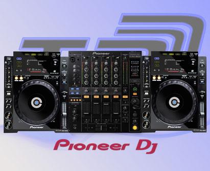 Pioneer DJ Equipment mieten in Bonn! CDJ 900 und DJM 800 von Pioneer DJ