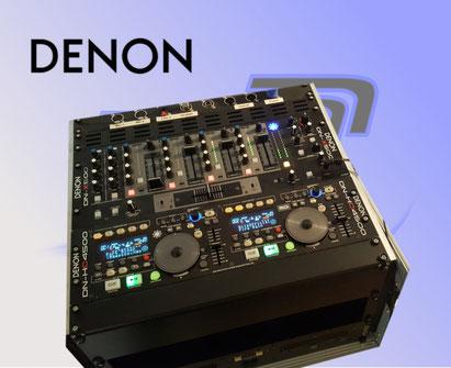 Denon DJ Rack mieten. DJ Equpment in Bonn leihen.
