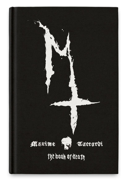 Maxime Taccardi, The Book of Death, Heavy Music Artwork, artist book, rockers and other animals, news, book