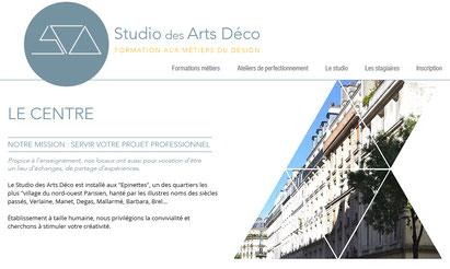 studio des arts deco