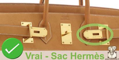 8f4cfd7e16 Sac Hermès Kelly Birkin reconnaitre contrefaçon faux occasion ...
