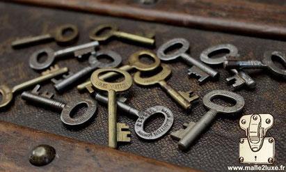 clef malle ancienne louis Vuitton