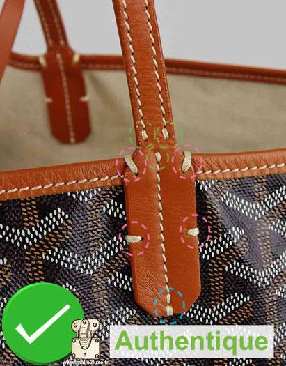 couture vintage goyard bag
