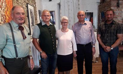 Vertreter des BZV Malta gratulierten dem Geburtstagskind