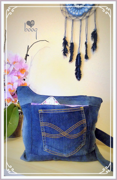 boog denim bag tasche recycling