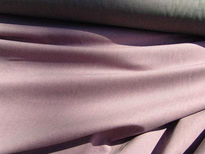 Baumwollchintz rosa/grünmeliert