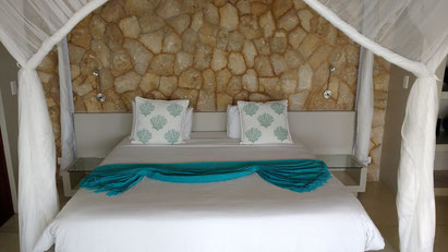 Gorgeous interiors abound at the Bahia Mar Boutique Hotel, Vilankulo - Dante Harker