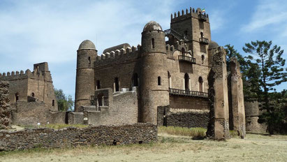 The castle at Gondar, Ethiopia. Dante Harker