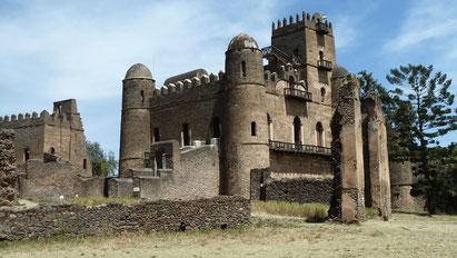The castle at Gondar, Ethiopia. Dante Harker