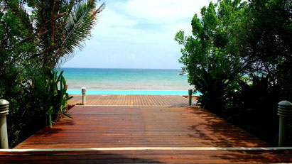 Beautiful places are found all along the coast from Pemba to Vilankulo. Dante Harker