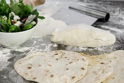 Sabzi khordan Kräutersalat Kochstudio Bilou Foodblog