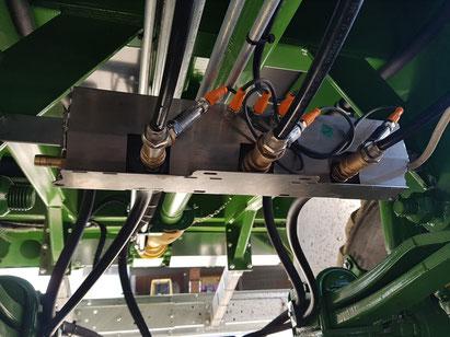 TERRA CARE Reifendruckregelanlage Traktor Anhänger Steuerbox