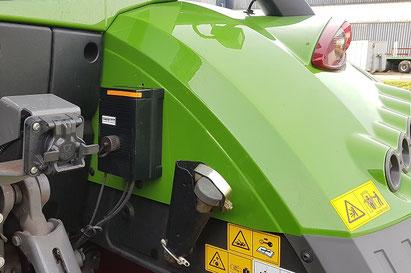 TERRA CARE Reifendruckregelanlage Traktor Anhänger Steuerbox Traktor