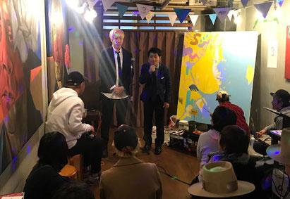 名古屋お笑い芸人 ファニーチャップ 周年イベントで漫才