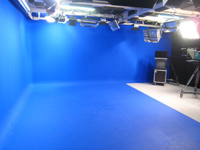Studio tournage fond vert