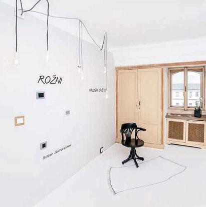 Salle d'exposition d'OBZOR à Designblok